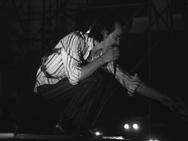 Het bureel van Nick Cave